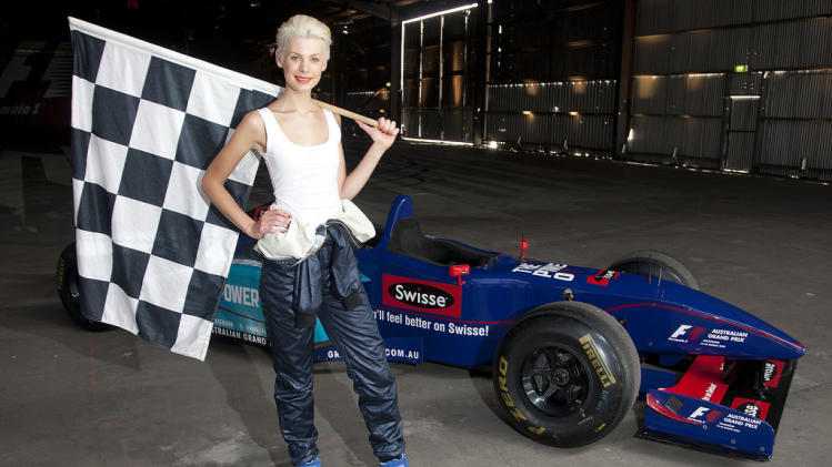 The 2012 Formula 1 Australian Grand Prix Ambassador, Kate Peck