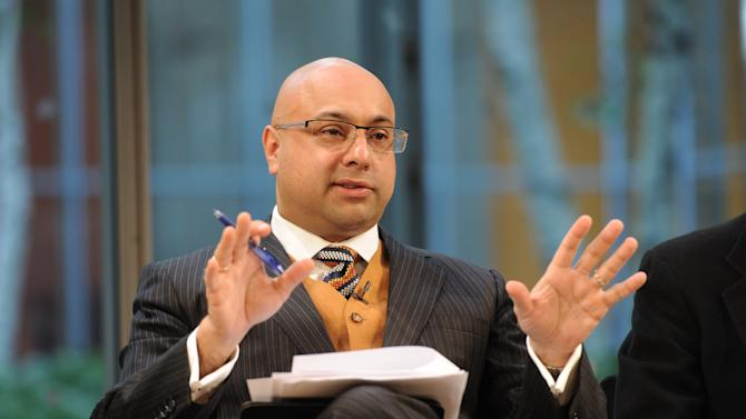 Ali Velshi attends the Food Dialogues: New York on Thursday, Nov. 15, 2012 in New York. (Photo by Evan Agostini/Invision for USFRA/AP Images)