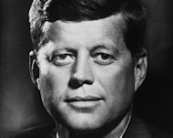 US President John F. Kennedy, seen in 1960 (AFP Photo/)