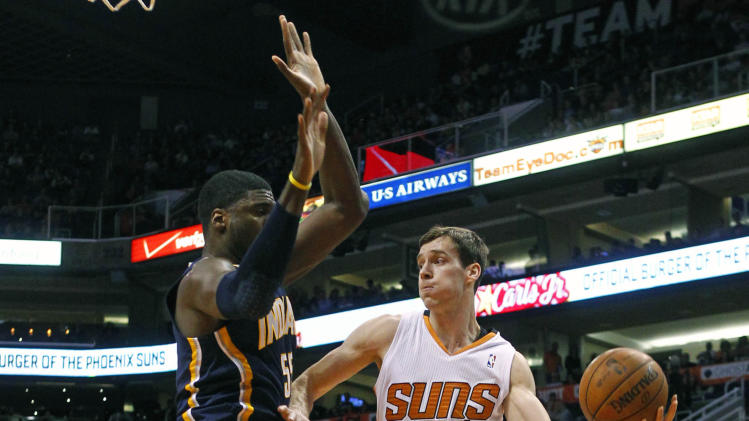 Green, Suns race past Pacers 124-100