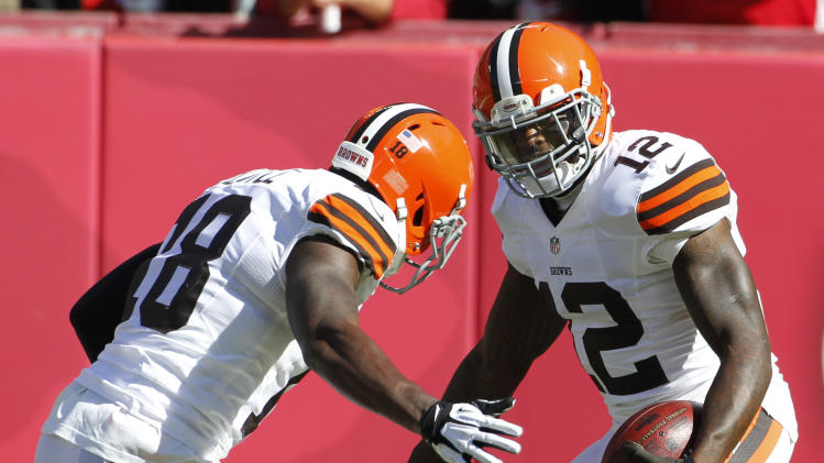 Trade talk over, Browns WR Gordon hopes to blossom