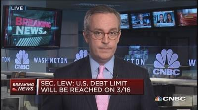 Lew tells Congress of emergency measures to avoid debt limit