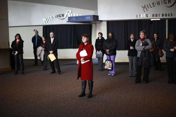 Jobless claims fall to near a 42-year low