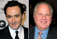 John Cusack, Rush Limbaugh | Photo Credits: Luca Teuchmann/Getty Images; Michael Loccisano/FilmMagic