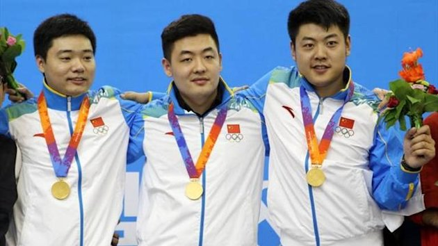 of Ding Junhui, Tian Pengfei and Liang Wenbo