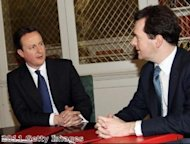 PM &#39;united with Osborne&#39; over economy