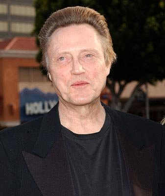 Christopher Walken at the LA premiere of 20th Century Fox's Man on Fire