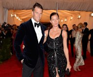 Tom Brady and Gisele Bundchen step out at the &#39;Schiaparelli And Prada: Impossible Conversations&#39; Costume Institute Gala at the Metropolitan Museum of Art in New York City on May 7, 2012 -- WireImage