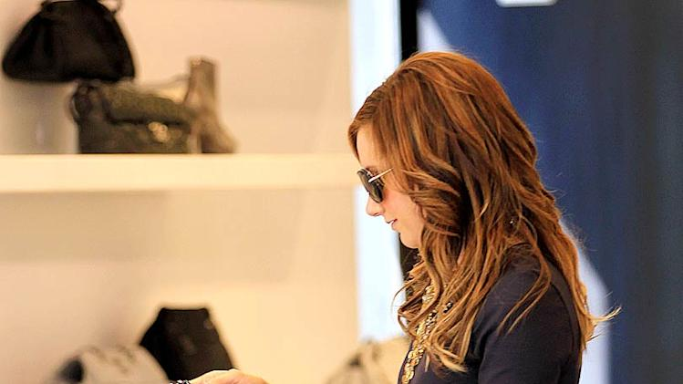 Ashley Tisdale NYC Shopping