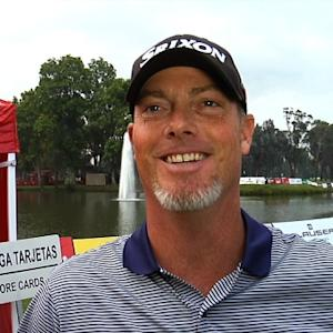 Tag Ridings interview after Round 2 of Club Colombia Championship