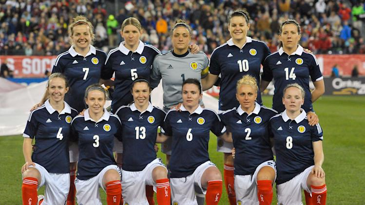 Soccer: Women's Friendly-Scotland at USA