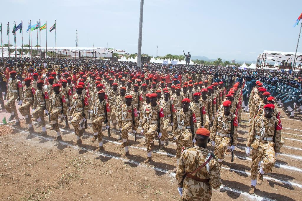 S. Sudan army begins withdrawal from Juba as deadline nears