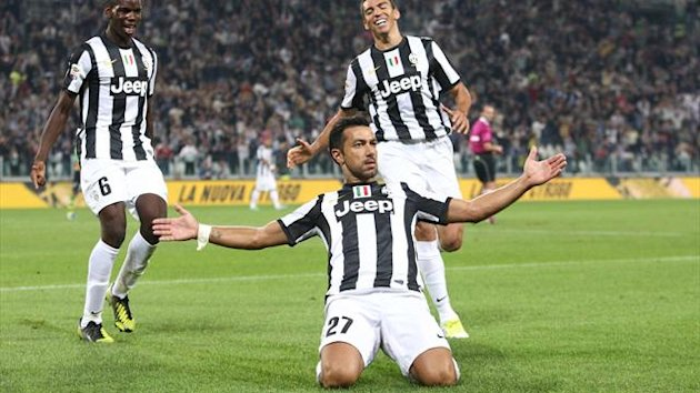 Quagliarella - Juventus vs Chievo - Serie A 2012/2013 (AP/LaPresse)