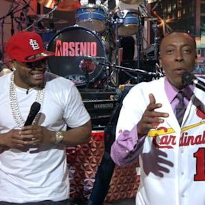 Arsenio Sings 'Country Grammar' After Losing NLCS Bet With Nelly