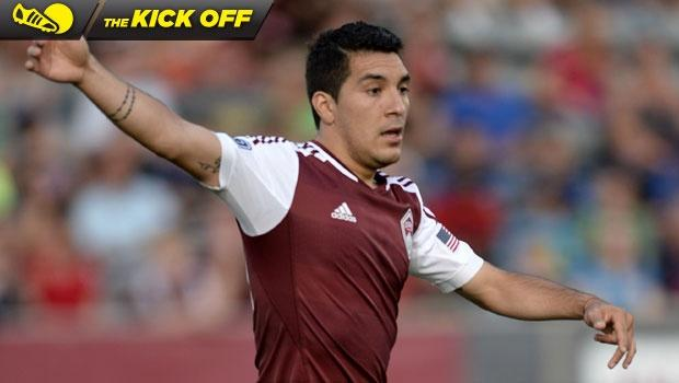 Rapids' Rivero, Castrillon may return sooner than expected