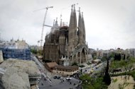 <p>Barcelona's iconic Sagrada Familia cathedral. The leader of Spain's Catalonia region has rallied crowds cheering for independence to fight for 'freedom' in snap elections on Sunday that he has cast as a vote for nationhood.</p>