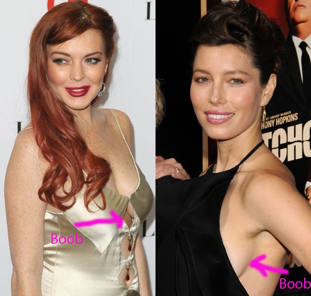 Lindsay Lohan, Jessica Biel