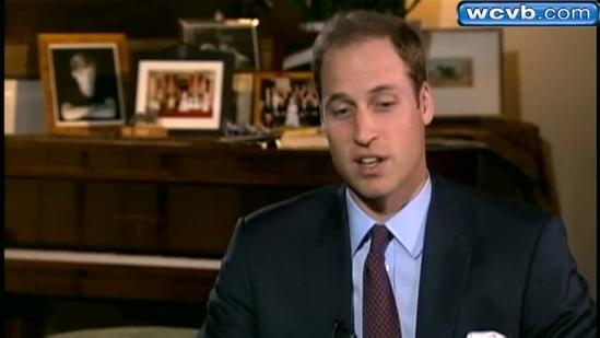 Prince William's wife, Kate, hospitalized for morning sickness