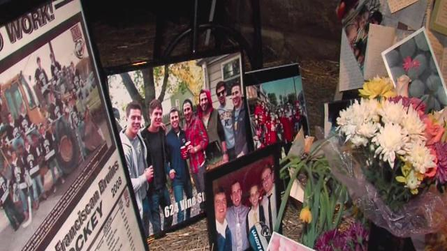 Vigil for Kent State student killed in spring break crash
