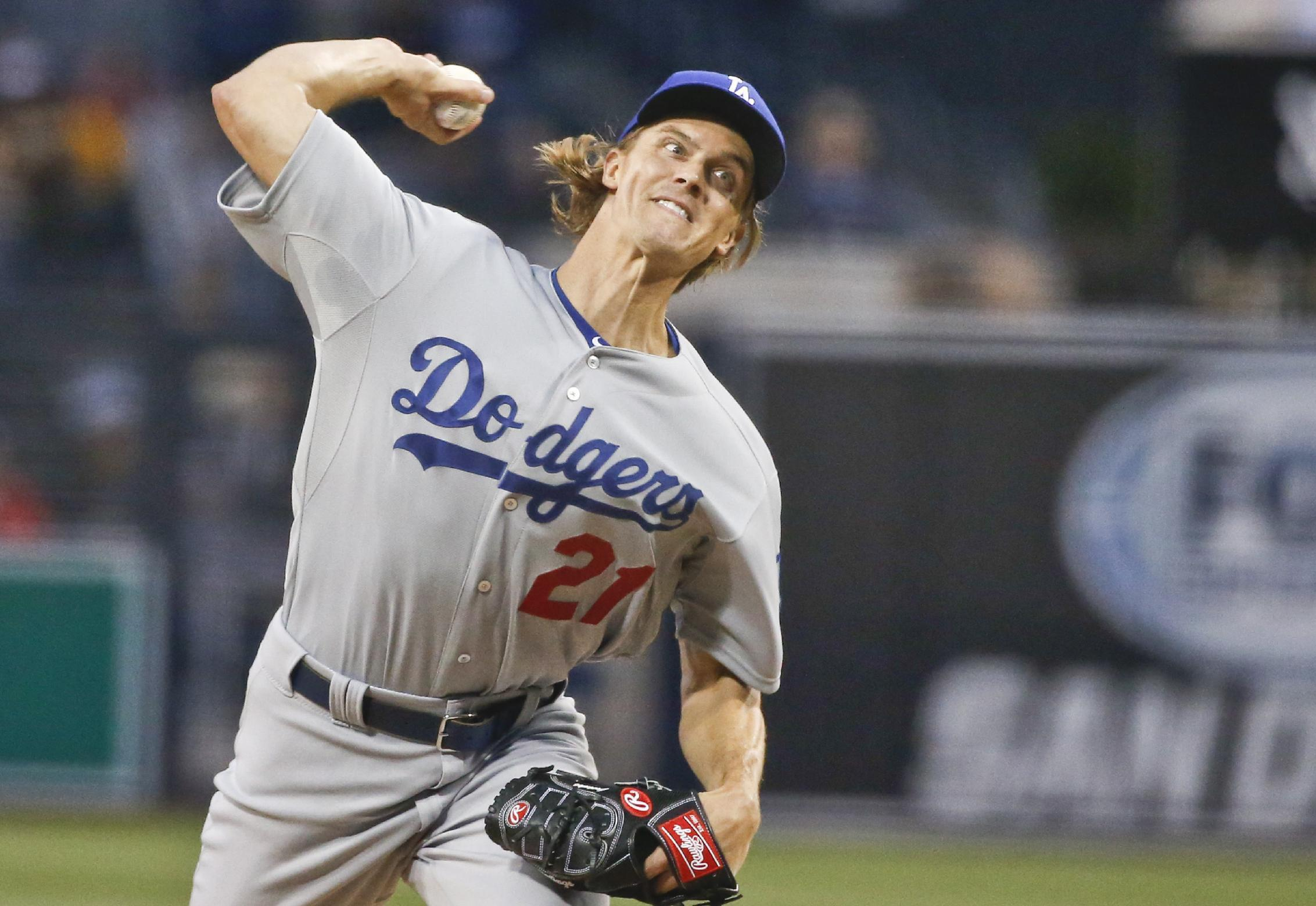 Greinke shuts down Padres to help Dodgers to 3-0 victory