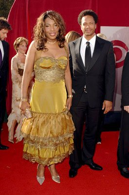 Macy Gray and Gary Dourdan 57th Annual Emmy Awards Arrivals - 9/18/2005