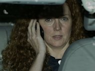Former News International Chief Executive Rebekah Brooks leaves the Houses of Parliament in London, in July 2011, after giving evidence to a Parliamentary Select Committee on the phone hacking scandal. Brooks and her husband Charlie Brooks, a close friend of Prime Minister David Cameron, have been arrested suspicion of perverting the course of justice