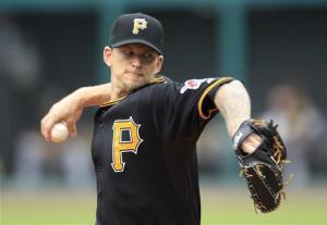 Burnett wins 6th start in row, Pirates top Indians