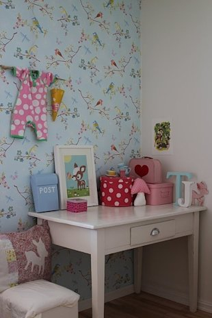 Wallpapered Workspace