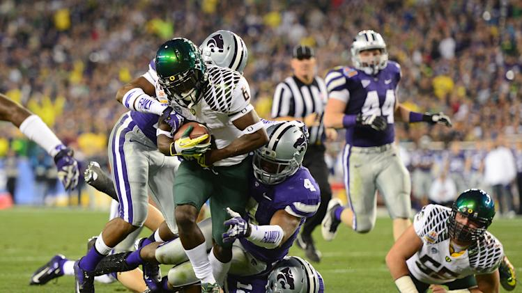 NCAA Football: Fiesta Bowl-Oregon vs Kansas State