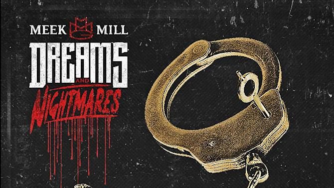 """This CD cover image released by Warner Bros. Records/Maybach Music Group shows the latest release by Meek Mill, """"Dreams and Nightmares."""" (AP Photo/Warner Bros. Records/Maybach Music Group)"""