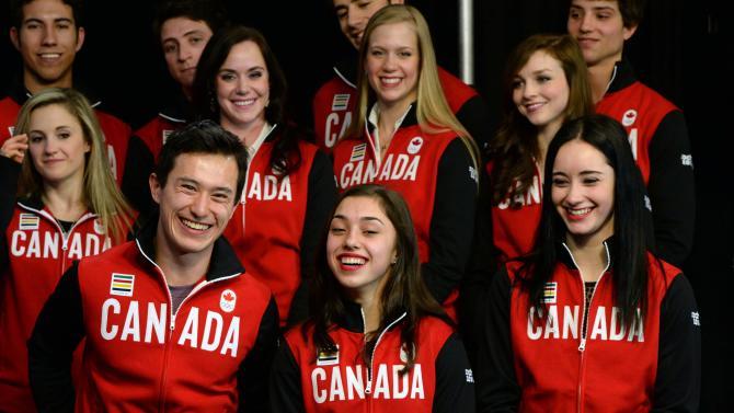 Canada announces figure skating team for Sochi
