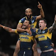 Leeds will defend their world title after beating Warrington