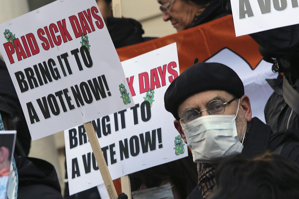 Flu season fuels debate over paid sick time laws