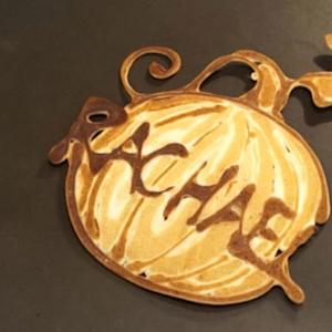 Watch a Pancake Turn into a Pumpkin!
