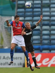 Matt Fish, left, has signed a new contract with the Gills