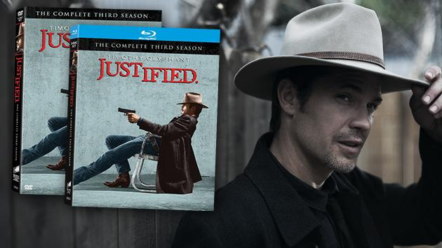 Justified giveaway