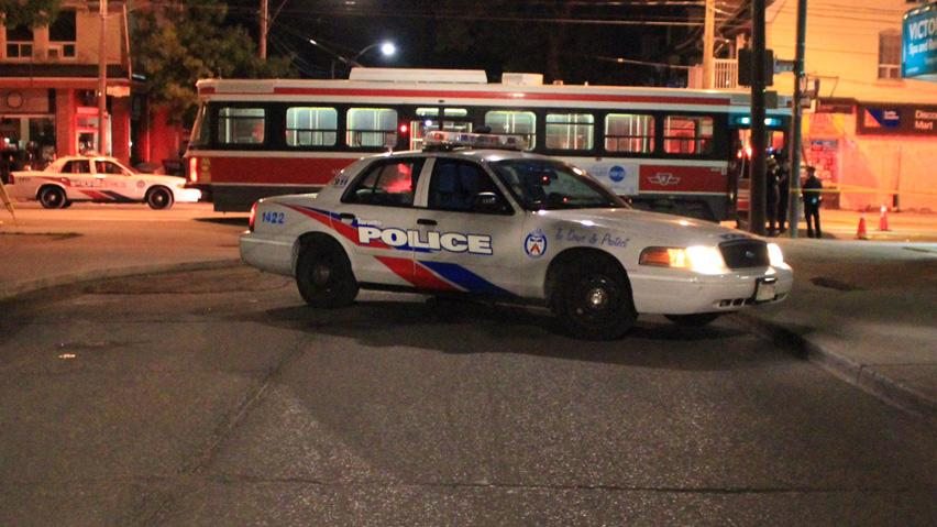 Sammy Yatim was shot by police on a TTC streetcar shortly after midnight on Saturday.