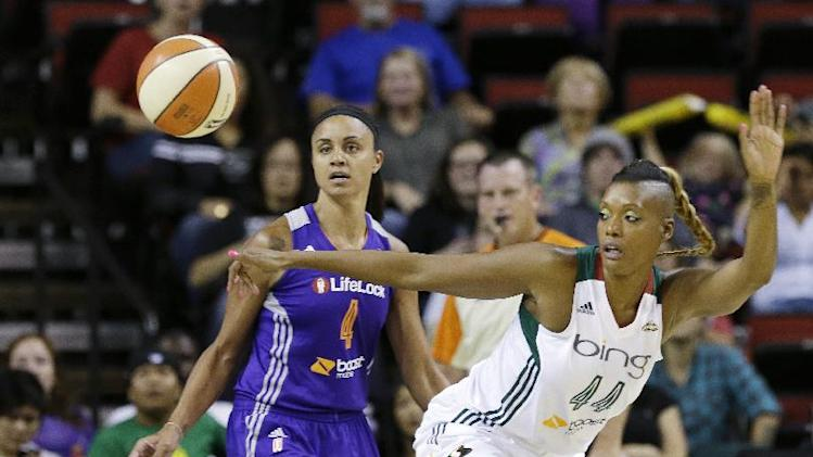 Johnson, Thompson lead Storm past Mercury, 88-79
