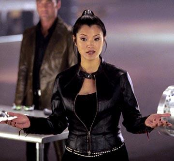 Kelly Hu in Warner Brothers' Cradle 2 The Grave