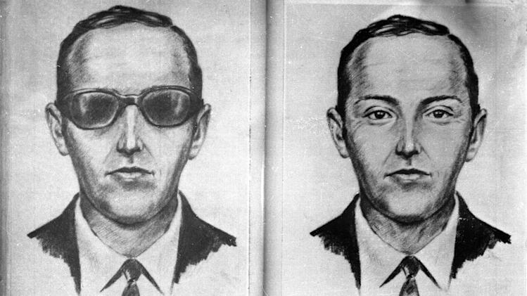 A 1971 artist's sketch released by the FBI shows the skyjacker known as 'Dan Cooper' and 'D.B. Cooper',  was made from the recollections of passengers and crew of a Northwest Orient Airlines jet he hijacked between Portland and Seattle, Nov. 24, 1971, Thanksgiving eve.   FBI spokeswoman Ayn Sandalo Dietrich tells The Seattle Times that a law enforcement member directed investigators to a person who might have helpful information on Cooper. (AP Photo/FBI/file)