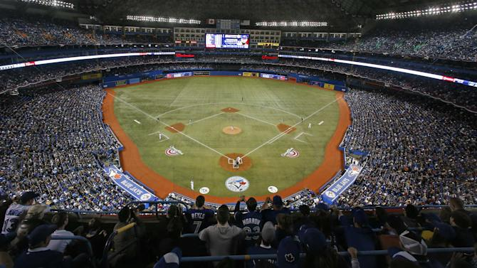 Blue Jays to begin conversion of Rogers Centre infield