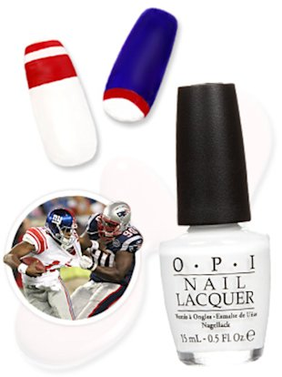 Super Bowl Nails - InStyle.com