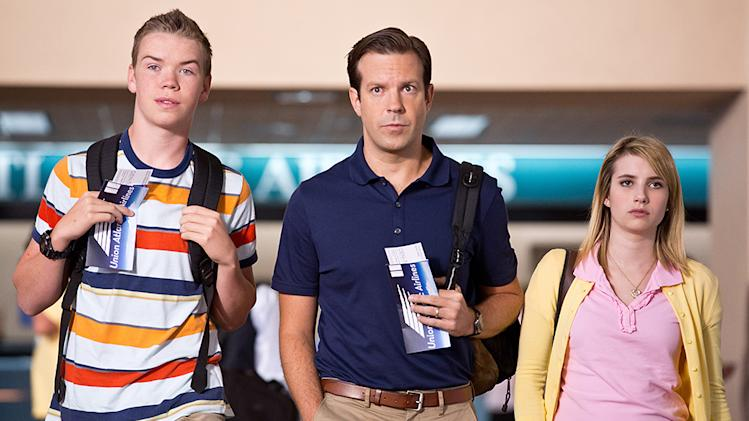 Emma Roberts and Jason Sudeikis in Warner Bros.'