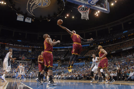 Speights, Irving lead Cavaliers past Magic 118-94