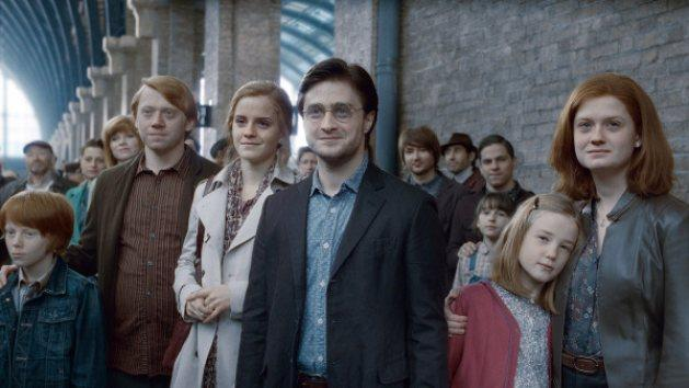 A scene from 'Harry Potter and the Deathly Hallows' -- Warner Bros.