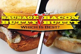 Bacon vs sausage: the butty battle winner