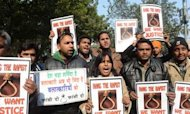 Gang Rape Victim Cremated In New Delhi