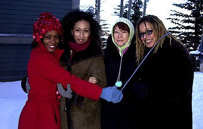 Aunjanue Ellis, Tamara Tunie, Ann Magnuson and Kasi Lemmons of The Caveman's Valentine