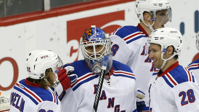 Miller's goal gives Rangers 3-2 win vs. Wild, division title