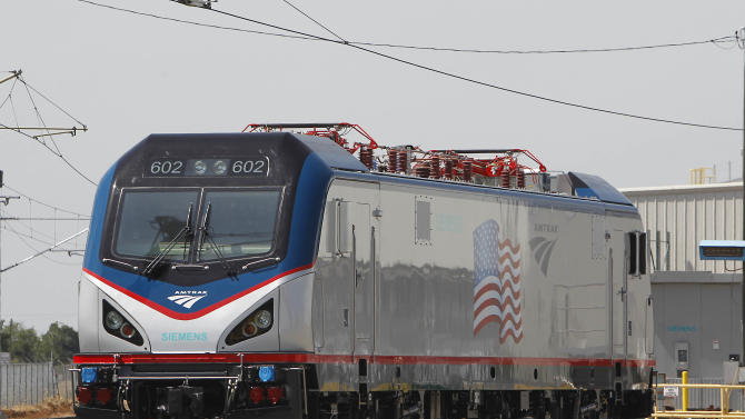 Amtrak unveils locomotives to replace aging fleet